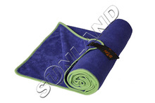 Sunland 40cmx80cm Microfiber Ultra Absorbent Drying Hair Hand Towel Workout Travel Outdoor Camping Gym bath Towel With Bag(China)