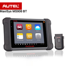 Autel MaxiSys MS906BT Auto Diagnostic Scanner Wireless/Advanced/Comprehensive Scan Tool MS906 BT with WIFI for OBDII ECU Coding(China)