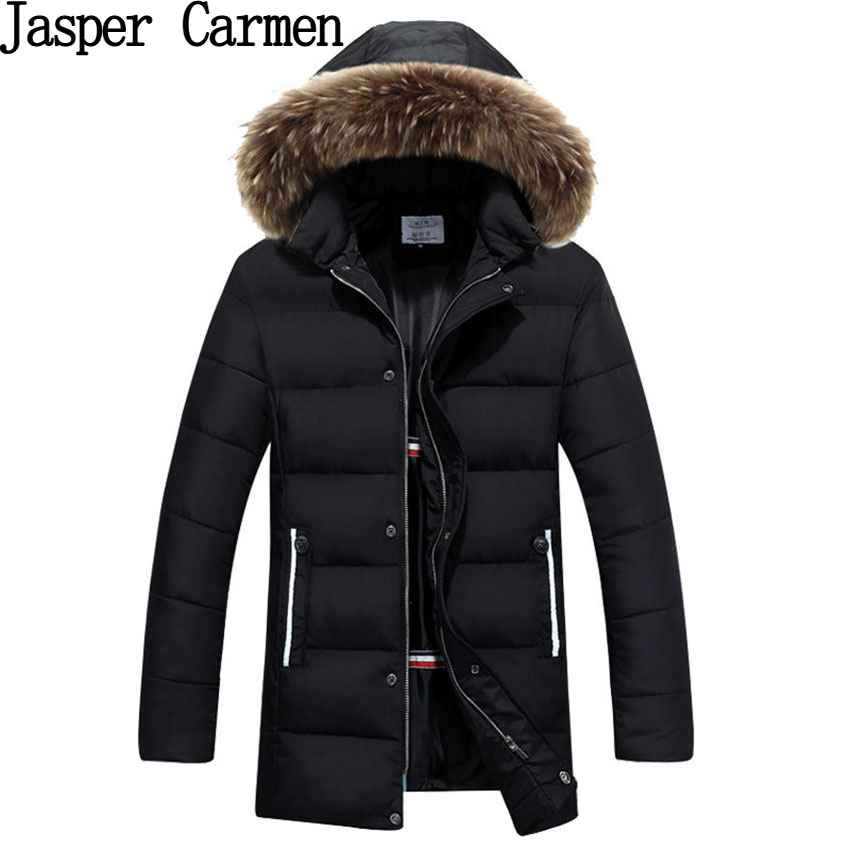 New Arrival Mens Winter Long Jacket Mens Thickened Hooded Jacket Fashion Slim Winter Coat WN 120Одежда и ак�е��уары<br><br><br>Aliexpress
