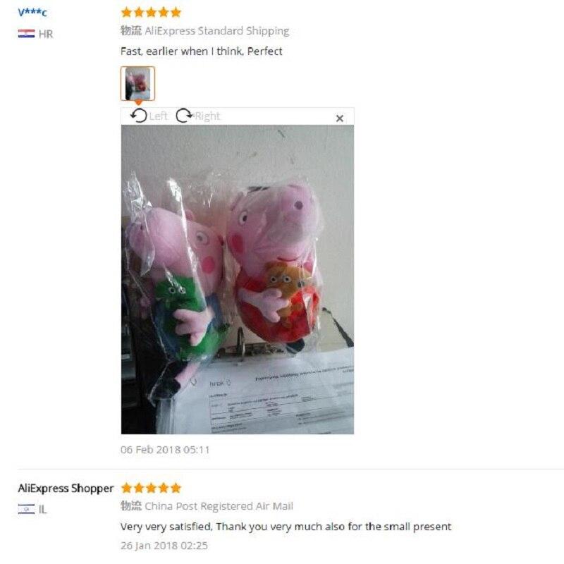 Genuine-Peppa-Pig-19CM-Pink-Pig-Plush-Toys-High-Quality-Hot-Sale-Soft-Stuffed-Cartoon-Animal (5)