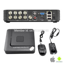 New Model H.264 Mini CCTV DVR Realtime Recorder P2P Cloud HDMI Home security Surveillance Video Waterproof system
