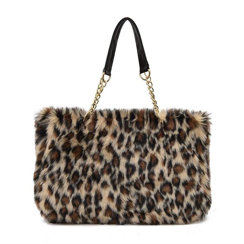 M627  Fashion Women Shoulder Bag Autumn And Winter The New Bag Chain Bangalor Temperament Plush Tote Handbag<br>