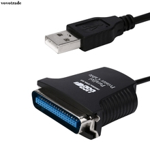 vovotrade New USB To DB36 Female Port Parallel Printer Print Converter Cable LPT Supports over 12 Mbps data transfer rate(China)
