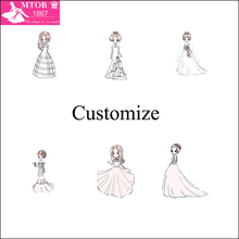 MTOB1867 special link for Professional Customized Wedding Dresses contact seller provide pictures or drafts get final price
