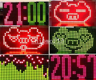 1pcs 16x32 DIY Kit Red Green Dual-Color Dot Matrix Control Display Module new<br><br>Aliexpress