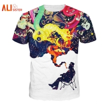 Alisister Harajuku 90s T-Shirt Gentleman's Fancy Tee 3D Print Women Men Short Sleeve Funny Hip Hop Tops Plus Size Brand Clothing