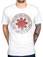 2017 Recién Llegado de Red Hot Chili Peppers Apenada Vintage Camiseta Californication Roca Diseño Tops Hipster Camisetas