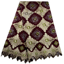 Miyoke Free Shipping African swiss voile lace high quality ,wedding lace African Fabric 100% Cotton Swiss Voile Lace B3-83008