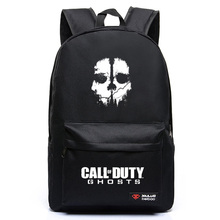 2017 High Quality New Fashion Call Of Duty Ghosts Backpack Boy School Bags For Teenagers Game Canvas Backpacks(China)