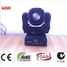 HOT newest design 60W mini led spot moving head light 60W gobo moving heads lights super bright LED DJ Spot Light
