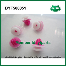 10 pieces DYF500051 car rear wheelarch washer for Land RoverDiscovery 3 2005-2009 Discovery 4 2010- auto clips fixer supplier