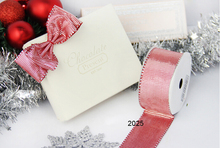 Two tone color grosgrain gift wrapping wired edge ribbon 25yards roll
