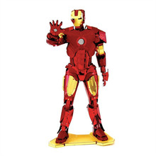 MARVEL IRON MAN,MJOLNIR,CAPTAIN AMERICA'S SHIELD,WAR MACHINE 3D Metal Model NANO Puzzles New Styles Chinses Metal Earth(China)