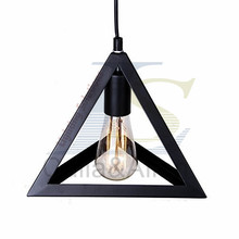 Industrial triangle l&shade pendant L& Covers Pendant Light Bulb Guard Wire Cage Ceiling Fitting Hanging Bars Cafe L&  sc 1 st  AliExpress.com & Popular Remote Control Light Fittings-Buy Cheap Remote Control ... azcodes.com