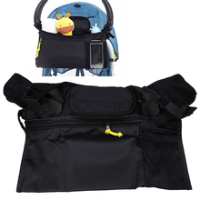 Portable Baby Stroller Hanging Storage Organizer Waterproof Bebe Carriage Milk Bottle Toys Nappy Storage Bag Prams Accessories(China)