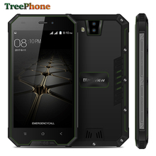 Blackview BV4000 IP68 Waterproof mobile phone Quad Core Android 7.0 4.7inch HD Corilla Glass cell phone 8MP GPS 3G Smartphone(China)