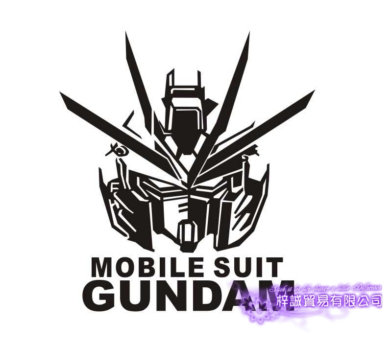 Pegatina Anime Cartoon Car Sticker Mobile Suit GUNDAM Vinyl Wall Stickers Decal Decor Home Decoration