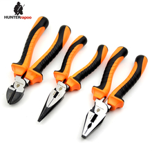 20% OFF 1PACK 6inch 160mm Length Combination Pliers,Long Nose Pliers, Diagonal Cutting Nippers, Bend Mini European Pliers