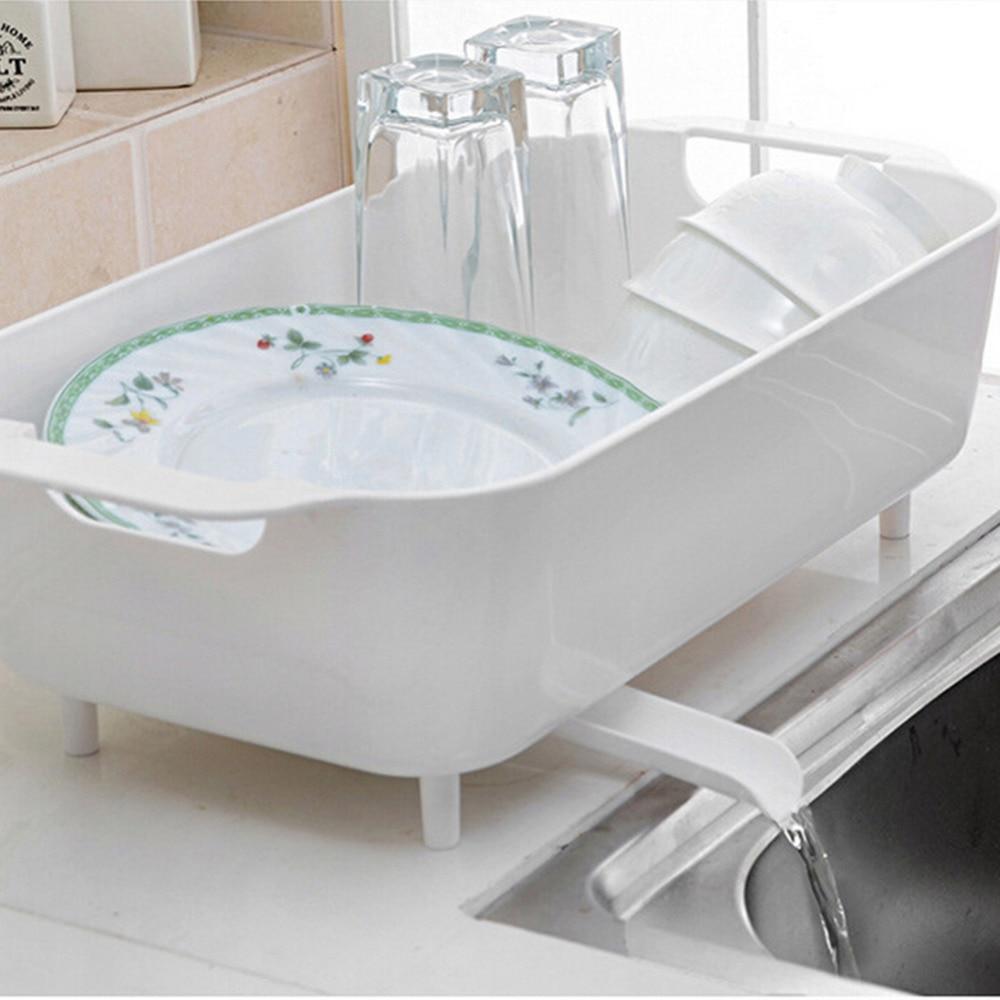 Multi Purpose Drain Holder Sink Basin Storage Rack Dish Bowl Storage Holder  For Vegetable Fruits
