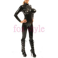 sexy latex apparel clothes inflatable catsuit