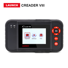 Launch X431 Creader 8 Creader VIII DBScar scan tool update online and CResetter Oil Lamp Reset tool Free shipping