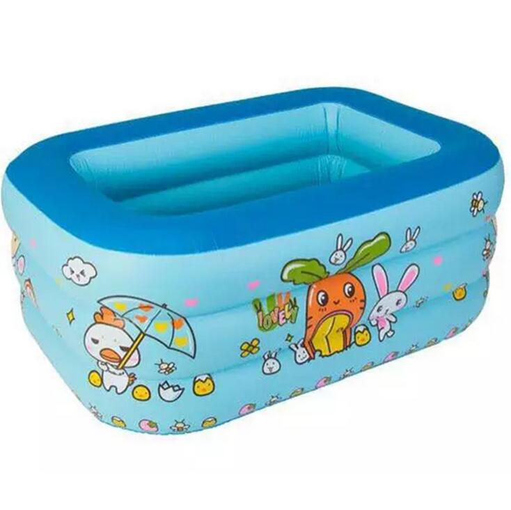 115*85*35CM Childrens inflatable swimming pool Baby inflatable pool Insulation baby baby home square pool Lmy903<br>