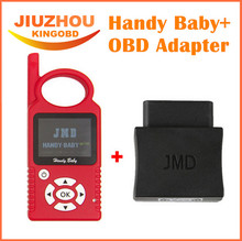 v8.2 Original Handy Baby Hand-held Car Key Copy Auto Key Programmer for 4D/46/48 Chips Plus JMD Assistant Handy Baby OBD Adapter
