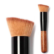 1PCS Multi-Function Makeup Brushes Powder Concealer Blush Liquid Foundation Make up Wooden Synthetic Hair  BrushTool Cosmetics
