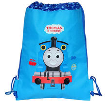 14 inch small trains backpack made children Schoolbag 1 small train and friends Children train Cartoon Bag men's bags
