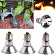 UVA UVB E27 220V Pet Reptile Halogen Spotlights Full Spectrum Basking Lamp Bulb 25/50/75/100W