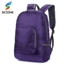 Schoolbags upscale portable folding backpack ultra light travel bagpack waterproof nylon knapsack rucksack bag free shipping f07