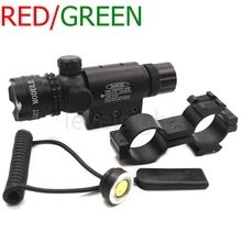 Tactical Red / Green Laser Sight Dot Laser Designator Emitter Airsoft Rifle Gun Laser Scope Shooting Long Distance