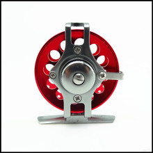 Free Shipping CNC Fly Fishing Reel 40#50# 60# 1BB  1:1  Fly Fishing Reel Fishing Tackle Raft reel Ice  reel