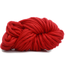 250g/Lot Super Thick Woolen Chunky Yarn Bulky Roving Big Yarn for Spinning Hand Knitting Crochet Blanket(China)