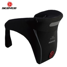 SCOYCO N04 Motocross Motorcycle PU Neck Brace Racing Protective Safety Gear Off Road Automobiles Neck Support (China)