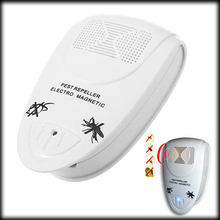by DHL or EMS 200 pieces Electronic Pest Repeller Reject Mosquito Killer Helminthes Machine Repellent Mosquitoes Pest(China)