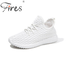 Fires Sports Shoes Women Summer Low Outdoor Breathable Brand Sneakers Sport Zapatilla Flat Shoes Girl Run Sneaker Training Shoes(China)