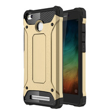 Buy Redmi 3S Case Xiaomi Redmi 3 Pro Luxury hard Armor Rugged PC+TPU Hybrid Protective back cover xiaomi redmi 3S 3 S shell for $2.73 in AliExpress store