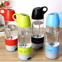 New Design Water Bottle Mini Bluetooth Speaker Portable Cups Compass Wireless Speaker Outdoor Sound Stereo Music Player
