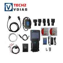 Hot selling for GM TECH2 scanner support 6 software Full set diagnostic tool Vetronix for gm tech 2 with Free shipping
