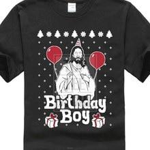 Fashion High Quality Personality Ugly Christmas Sweater Jesus Birthday Boy Xmas Holiday Gift Idea Summer Mens Print T Shirt
