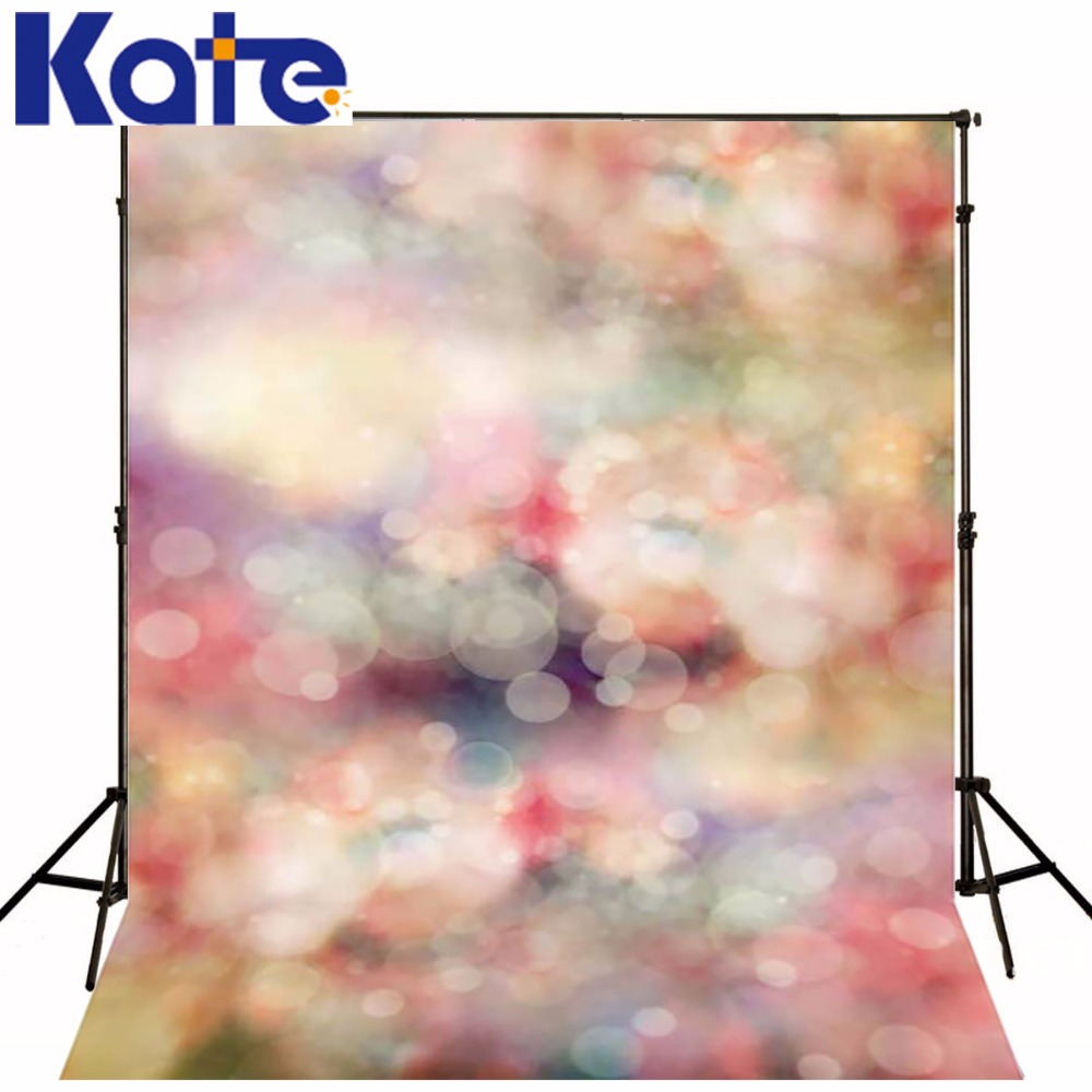 Kate 8x8ft Light Bokeh Backdrops Newborn Psychedelic Color  Baby Digital Background for Children Photography Shoot<br>