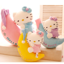 Good night hello Kitty doll plush toy hellokitty pillow doll stuffed aniaml about 35cm
