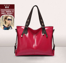 China Famous Brand Best Quality Women Messenger Bags Genuine Leather Bag 50PCS/lot(China)