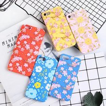 Fashion Odds and ends of flowers pattern Luminous sofe tpu case For iphone 6 6s plus case cover For iphone 7 7 plus phone cases