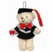 2pcs 2016 models sitting height Plush Bear graduate student Dr. Xiong Gongzi graduation gift section brinquedos kawaii juguetes