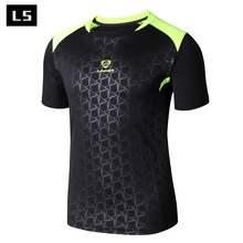 LS fashion Brand 2017 New Arrival Designer Mens T-shirt Casual Quick Dry Shirt Slim Fit Men O-Neck T Shirt Tops & Tees wholesale