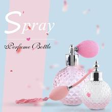 100ml Glass Crystal Perfume Vintage Bottle 100ml Spray Atomizer Bulb Empty Refillable Lady Unique Gift