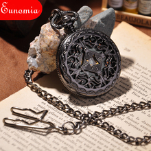 Steampunk Pocket Watch New Design Luxury Brand Fashion Skeleton Watches Hand Wind Mechanical Pocket Watch(China)