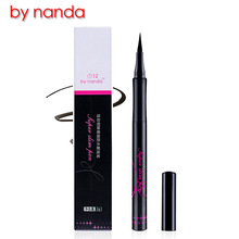 BY NANDA Brand Painted bright eyes waterproof eyeliner pen is very thin soft head eyeliner lasting fade mascara Bhs